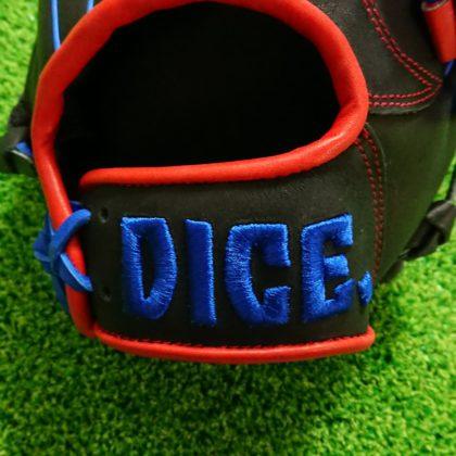 【70】DICE.ダイス 軟式グラブ