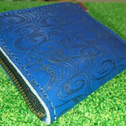 159 グローブ革 手作り財布