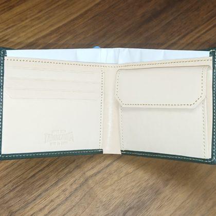307 玉澤 限定 グローブ革で作った折りたたみ財布